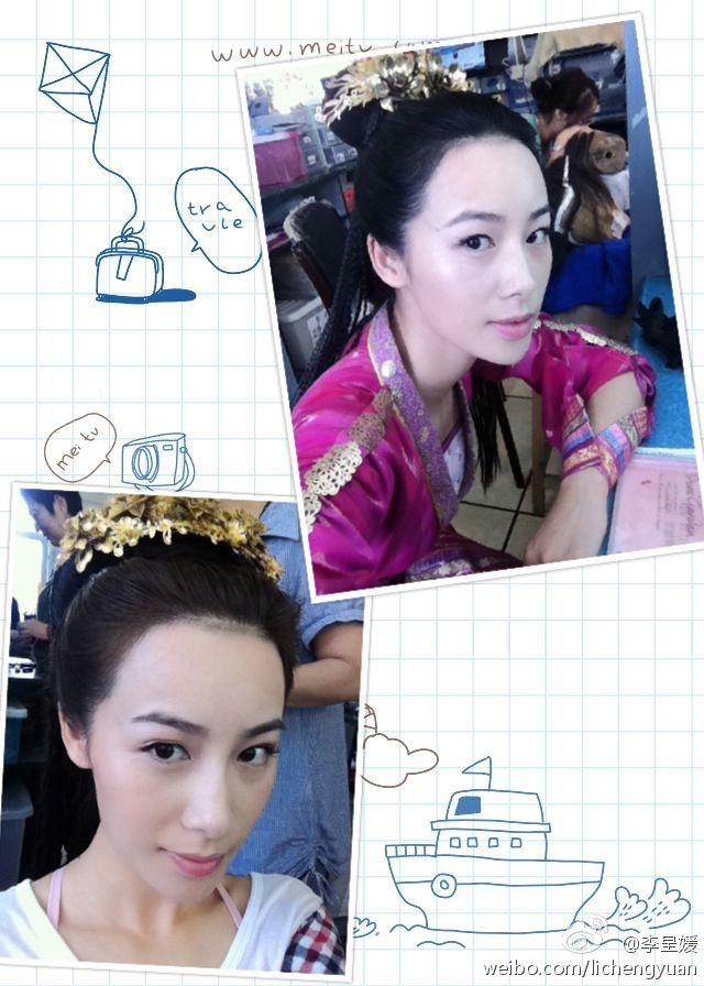 李斯羽黑丝_李呈媛_18 - 美女模特 - 微博女人
